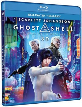ghost shell 3d